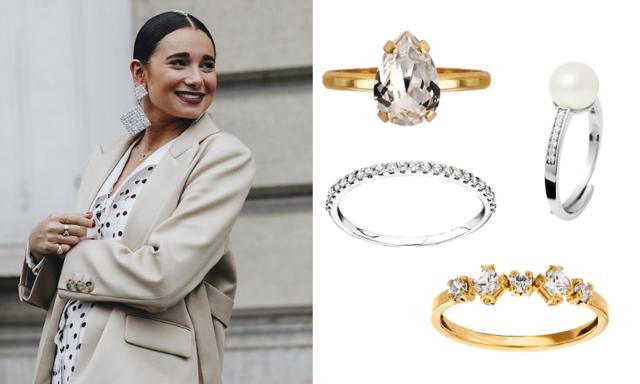 Vänta inte på förlovningen! 24 vackra stenprydda ringar att unna dig själv