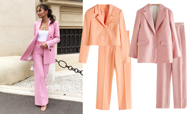 Pastellbonanza! 8 powersuits i säsongens trendfärger
