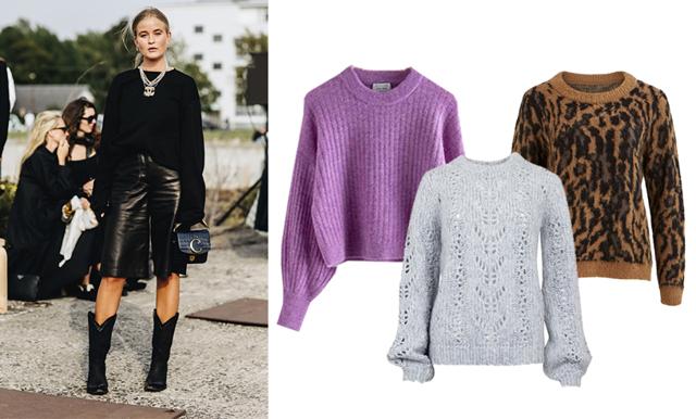 Stiligt och avslappnat – 25 stickade tröjor i vackra kulörer vi vill bära i höst