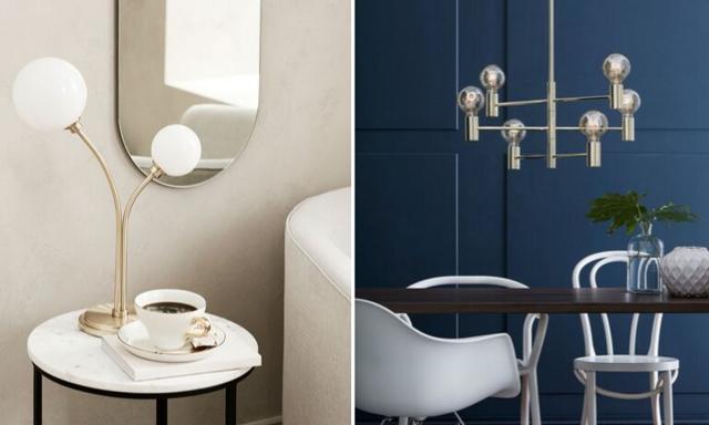 Svart, guld och runda former! 17 snygga lampor som lyfter ditt hem