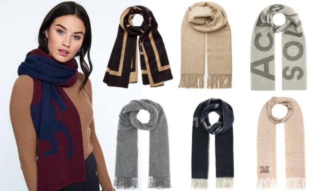 Håll värmen med stil! 18 snygga halsdukar att bära i höst – och som passar till allt