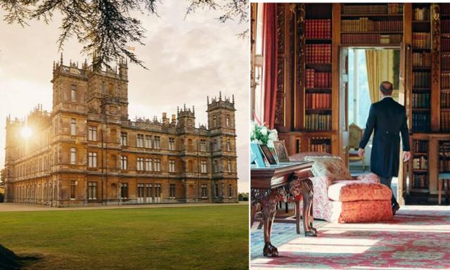 """Kliv rakt in i """"Dowton Abbey"""" – nu kan du bo i slottet från serien!"""