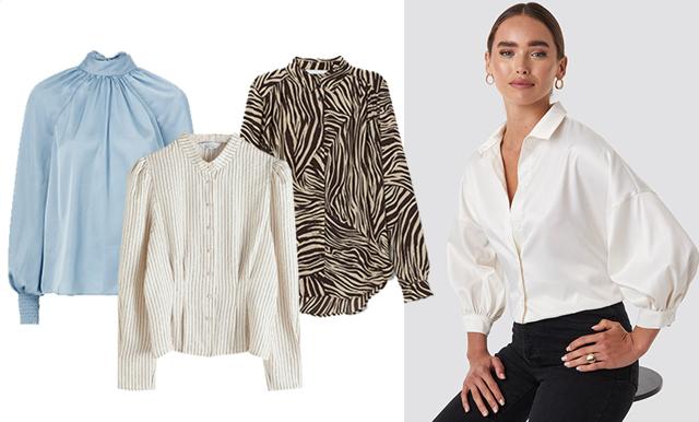18 stiliga blusar att bära på kontoret – som alla har det där lilla extra