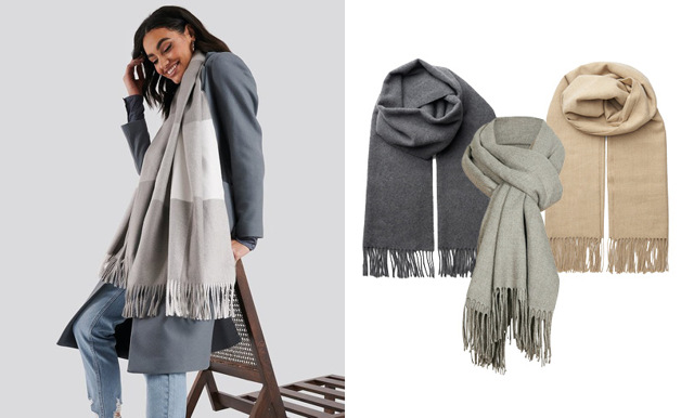 Håll värmen med stil! 25 snygga halsdukar att bära i höst – och som passar till allt