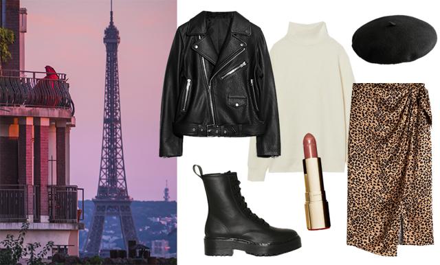 Weekendsnygg i Paris – inspireras av tre stilsäkra looks