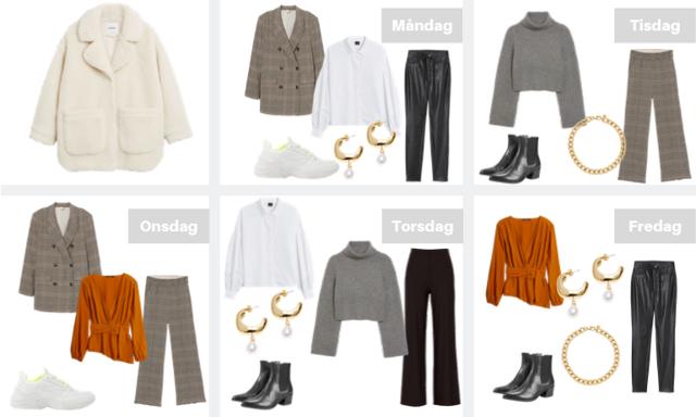 Så klär du dig snyggt och trendigt på kontoret hela veckan – med bara 10 plagg