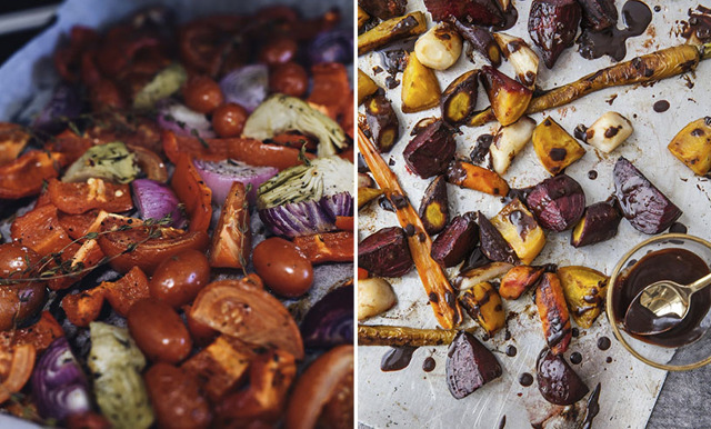Foodjunkie tipsar om ugnsbakade grönsaker med olivolja