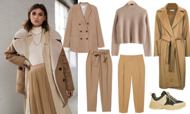 I höst klär vi oss ton-i-ton! 3 trendiga outfits i olika nyanser att inspireras av