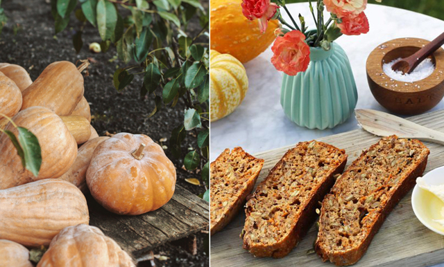 Ladda upp för halloween med saftigt pumpabröd – på 5 minuter