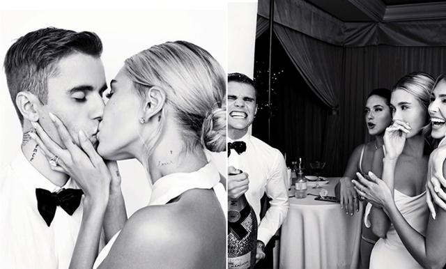 Allt om Justin och Hailey Biebers bröllop! Äntligen får vi se hennes sagolika bröllopsklänning