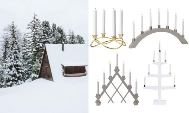 Lys upp ditt hem! 22 stilrena adventsljusstakar som fixar julkänslan