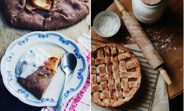 Sommarfika för alla! Glutenfri och vegansk äppelpaj