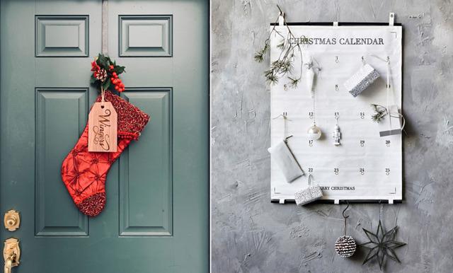 Ge bort julstämning! 20 dekorativa adventskalendrar och julstrumpor att fylla själv