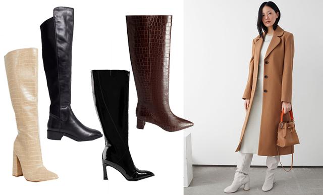 Höga boots är vinterns it-skor! 14 stilrena och chica par vi drömmer om