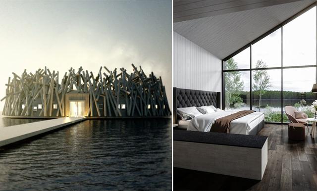 Det flytande spa-hotellet i Norrland har tagit världen med storm!