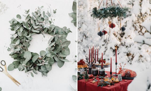 Enkelt och pyssligt! 15 sätt att skapa julkänsla hemma med växter