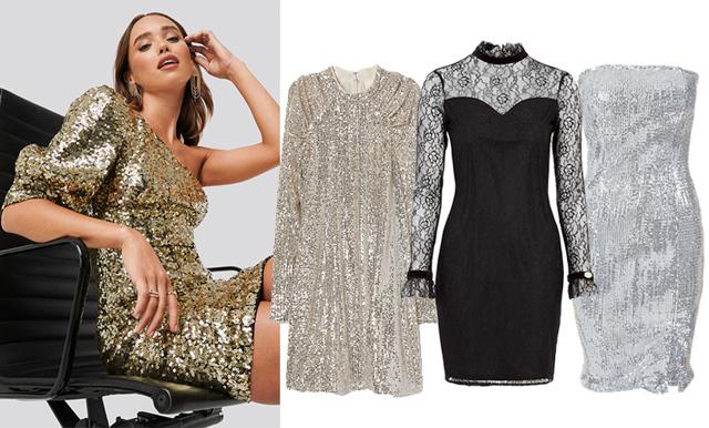 Veckans kap från kedjorna! 11 sista minuten-klänningar till nyår under 400 kronor