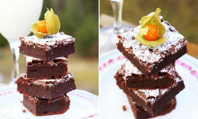 Så gör du en saftig brownie på två ingredienser