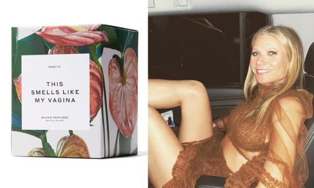 """Doftljuset """"This smells like my vagina"""" och 9 andra otippade produkter Gwyneth Paltrow säljer"""