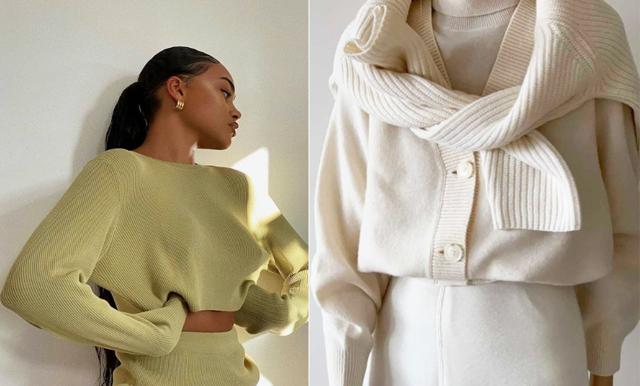 Stickade tröjor och koftor – 24 snygga varianter som värmer och håller stilen!