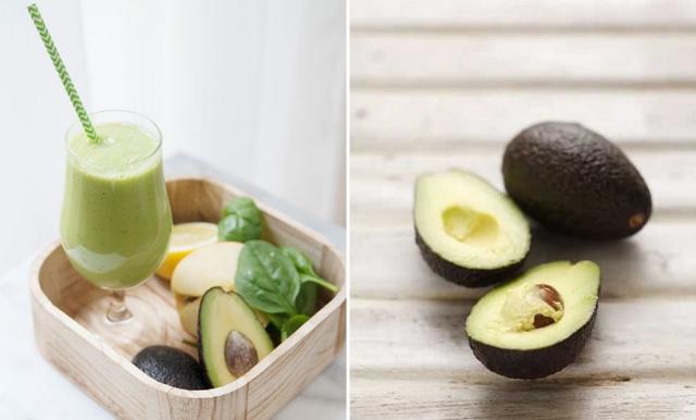 Smoothie med avokado och äpple – gott och nyttigt!