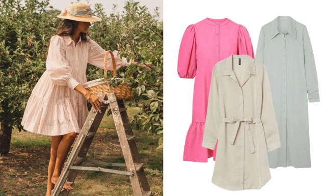 Ljusa nyanser! 33 skjortklänningar att bära i vår