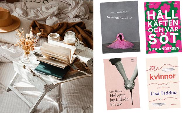 Böckerna att hålla utkik efter på rean! Här är 14 starka böcker skrivna av kvinnor