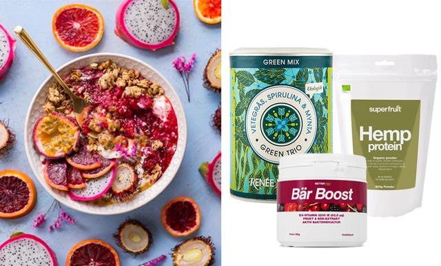 Ge kroppen en extra boost i vår – 11 hälsosamma och goda superfoods