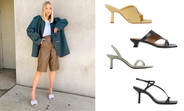 Vårens trendigaste skor! 19 varianter med fyrkantig tå