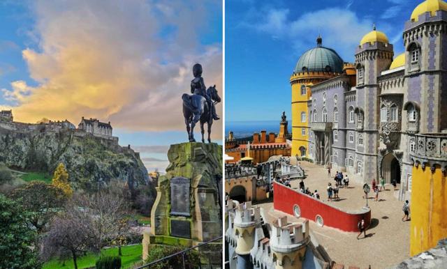 Världens 10 mest populära slott – på Instagram just nu