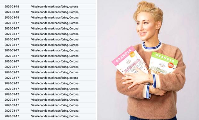 Katrin Zytomierska marknadsförde fiskolja med corona-argument – har anmälts över 120 gånger