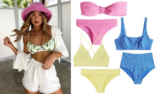 22 trendiga och smickrande bikinis för sommaren 2020
