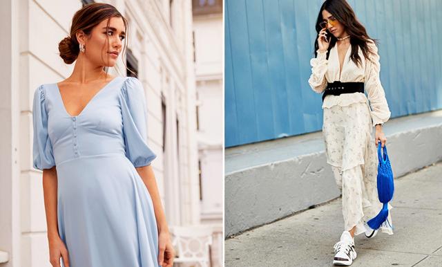 Färg och silhuetter! 16 vackra klänningar med puffärmar
