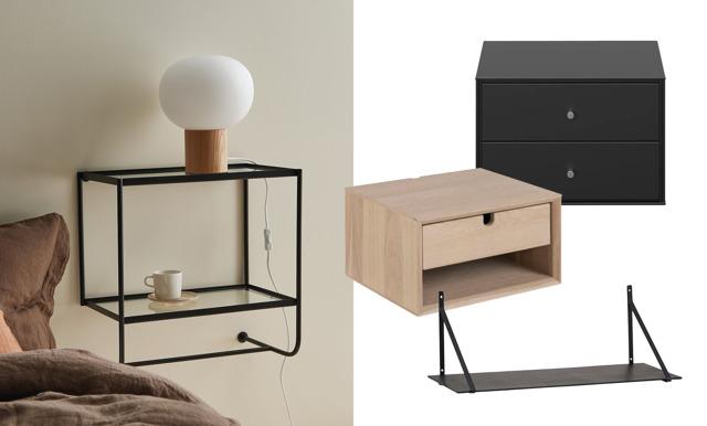 31 snygga sängbord som får ditt sovrum att kännas större