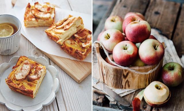 Nyttig äppelpannkaka klar på 30 minuter! En succé på helgbrunchen