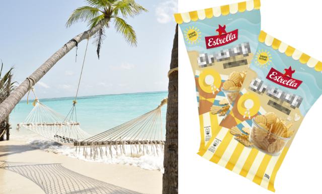 Sommarens chipssmak från Estrella ser SÅ god ut – det här datumet kan du köpa den!