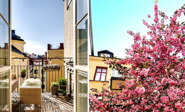 Så inreder du en liten balkong – 6 bästa tipsen och köpen
