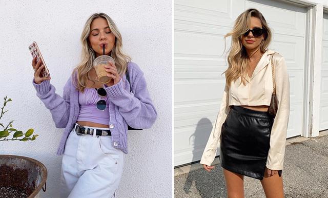 Perfekt till sommarens outfits – 14 croppade toppar i ljusa nyanser