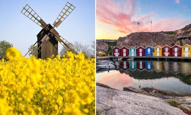 Här är det mest soltimmar i Sverige under sommaren!