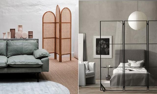 Möbeln som skapar rum i rummet! 9 vackra skärmväggar