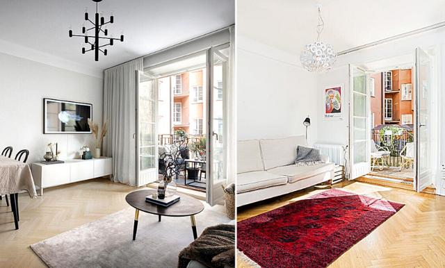 Sugen på att göra om hemma? De här två identiska lägenheterna visar hur stor skillnad det kan bli!
