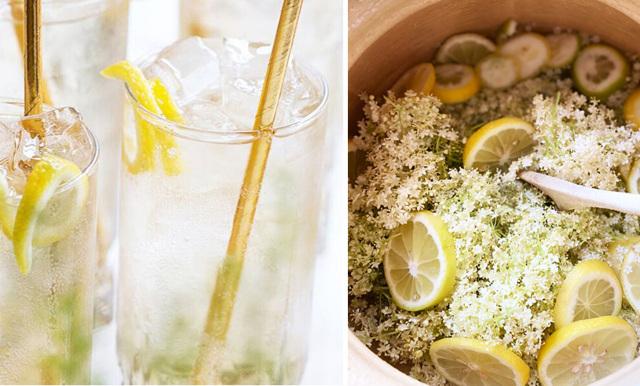Så enkelt blandar du sommarens trendigaste drink – med smak av fläder