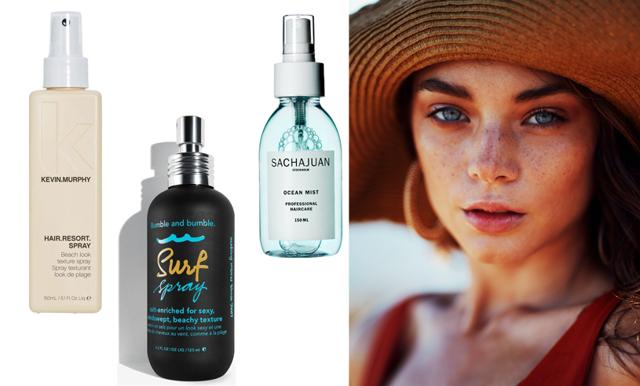 7 saltvattenspray som ger ditt hår textur
