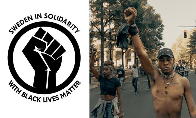 Idag kan du demonstera digitalt vid USA:s ambassad för Black Lives Matter