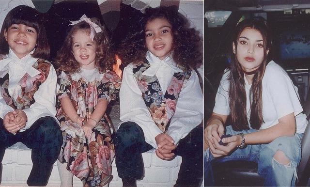 32 gamla bilder från familjen Kardashians familjealbum – känner du igen dem?