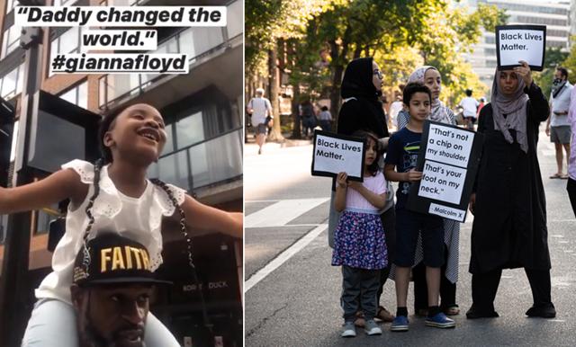 """George Floyds dotter: """"Pappa förändrade världen"""""""