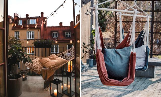 13 hängmattor och hängstolar för lata sommardagar