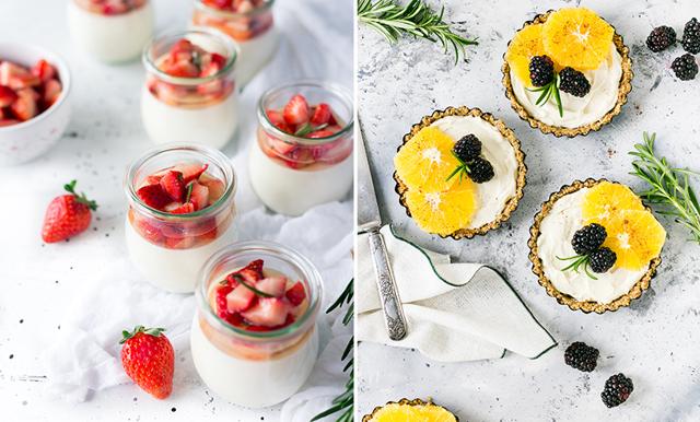 Fixa sommarens godaste desserter – fyllda med säsongens bär