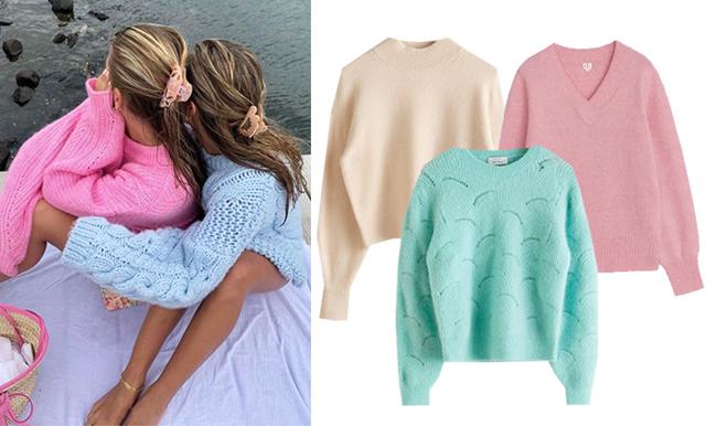 18 stickade och trendiga tröjor till sommarens svala kvällar