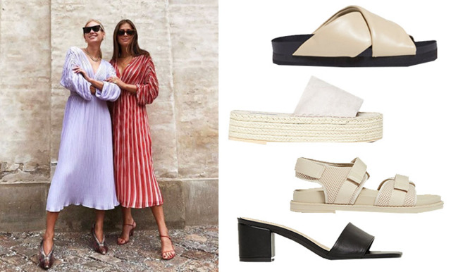 Sommarens finaste sandaler och tofflor 2020